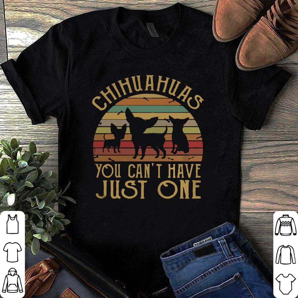 Sunset Chihuahuas you can't have just one vintage shirt