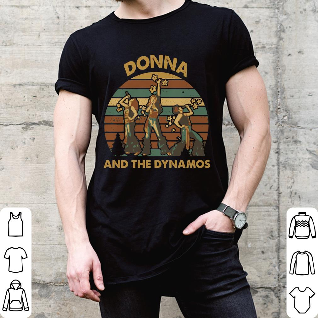 Sunset retro Donna and the dynamos shirt
