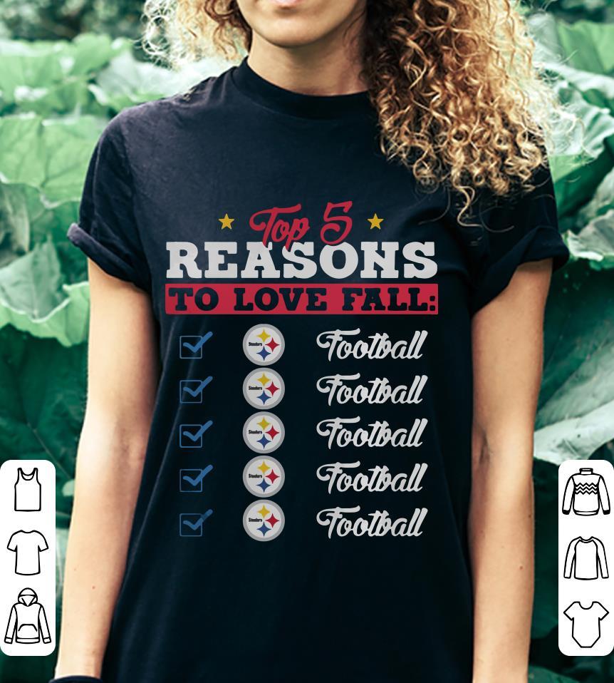 Top 5 reasons to love falls Steelers football team shirt