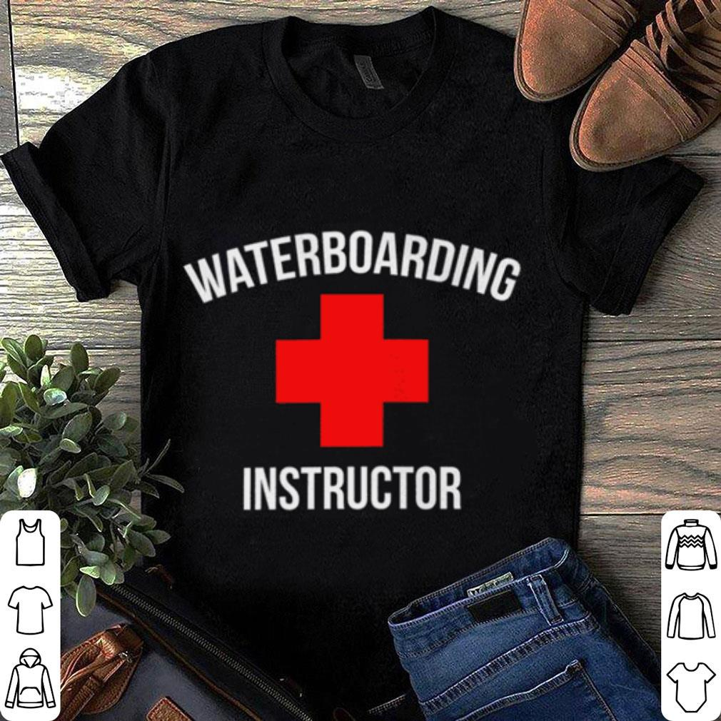 Waterboarding instructor shirt