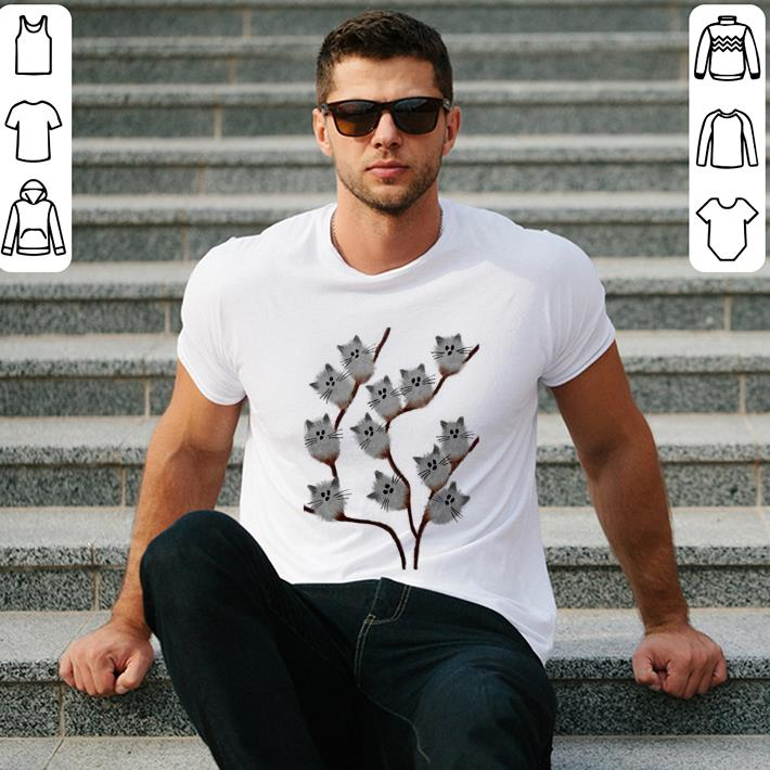 Cats on tree shirt