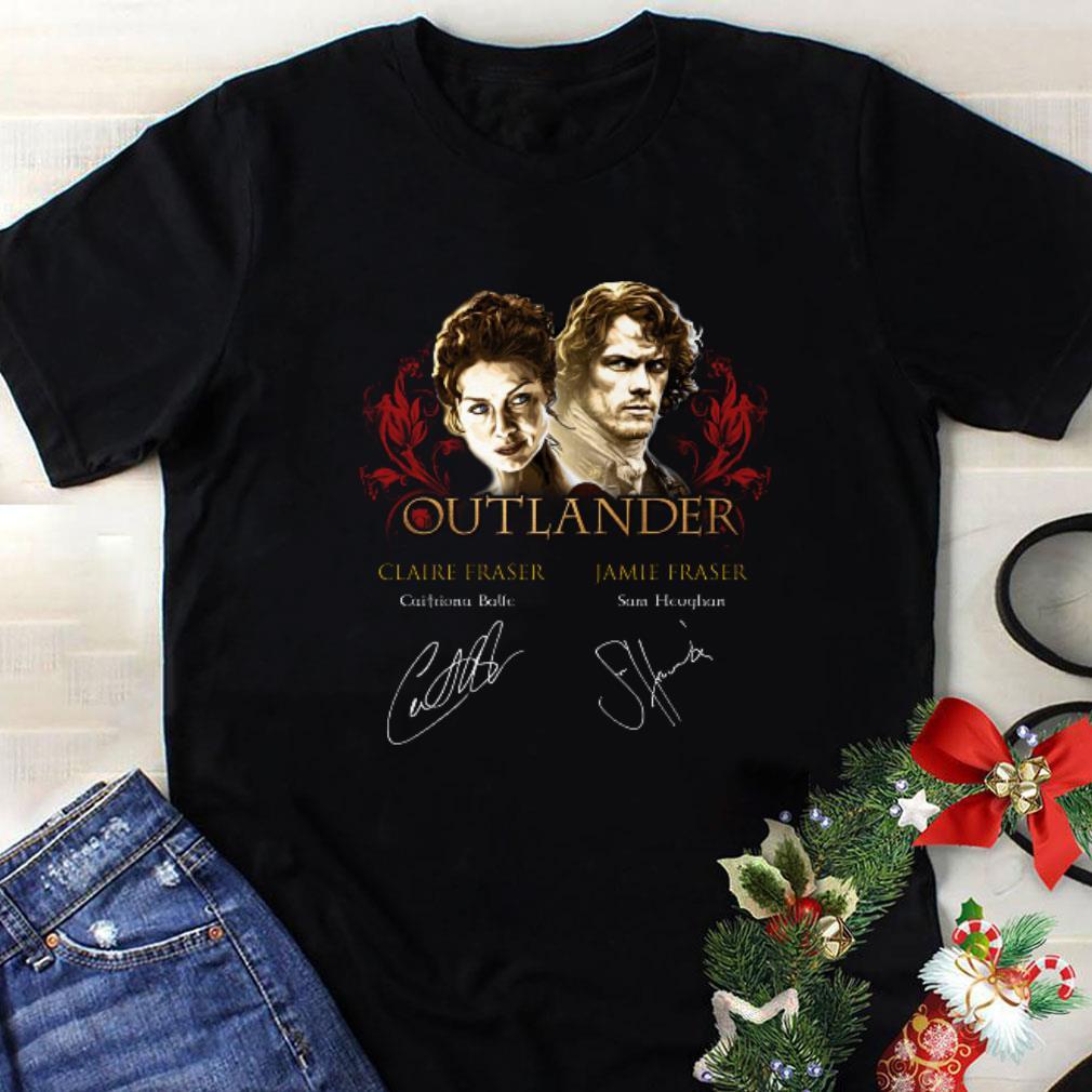 Outlander signatures Claire Fraser Jamie Fraser shirt 1