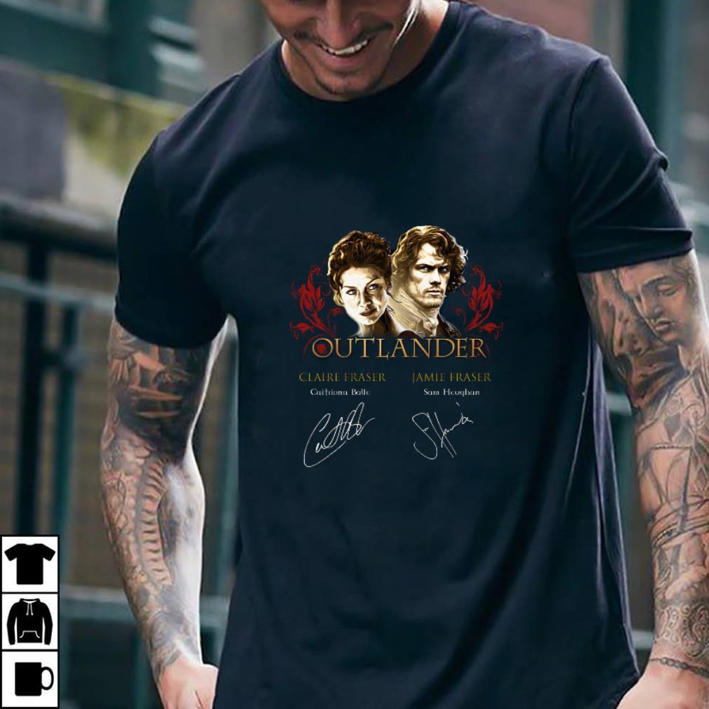 Outlander signatures Claire Fraser Jamie Fraser shirt