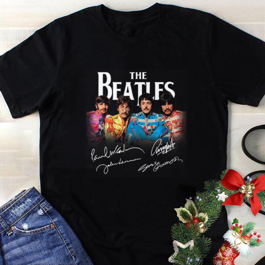 The Beatles Band Signature shirt