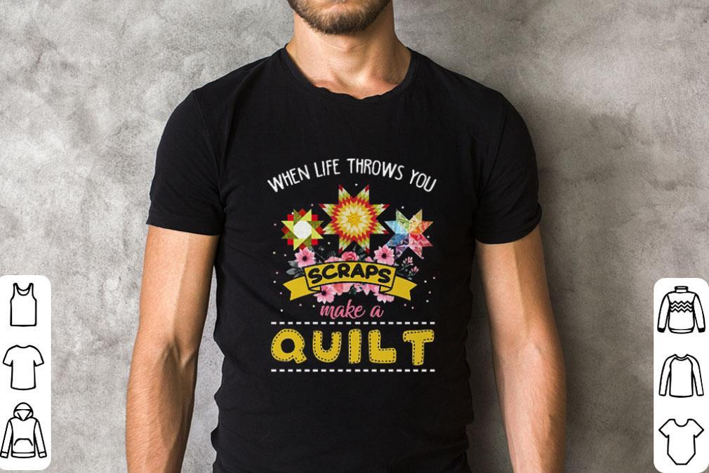 When life throws you scraps make a quilt shirt 2