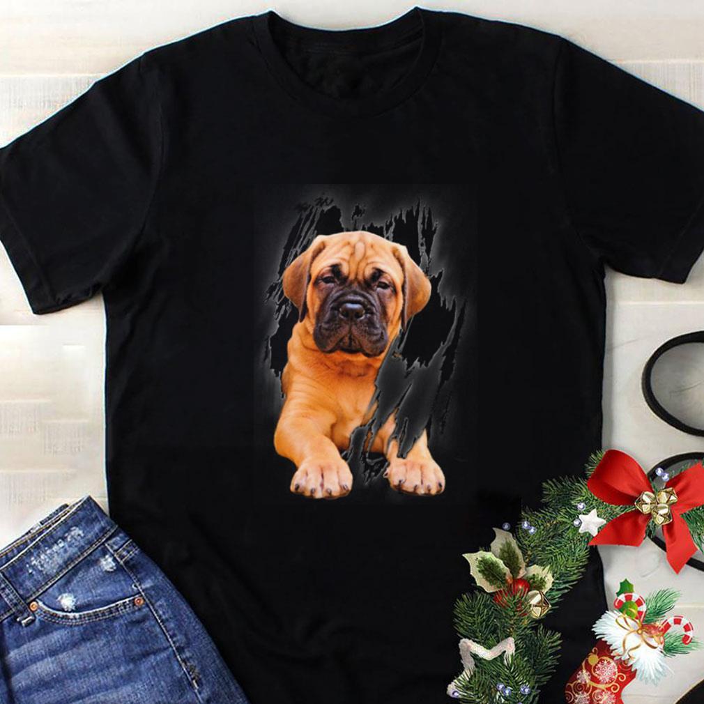 Bullmastiff Inside Me shirt