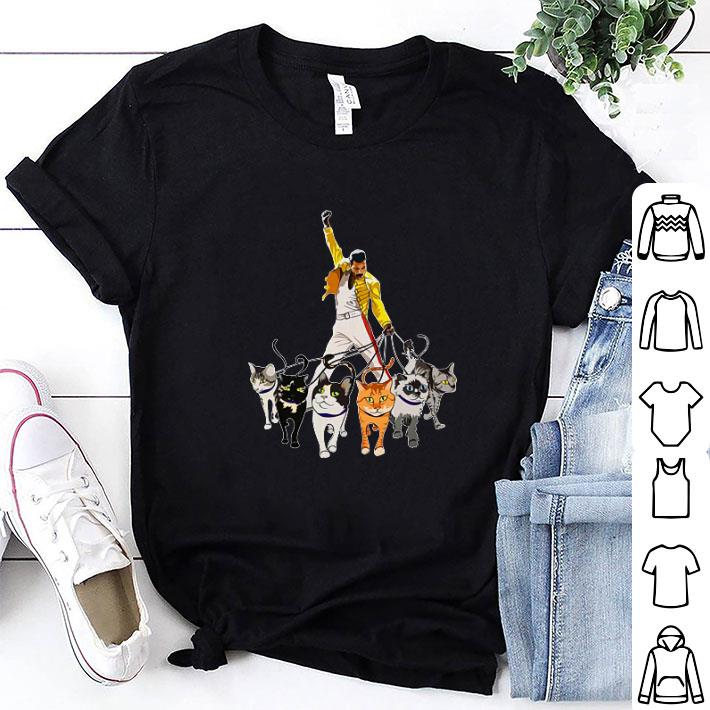 Freddie Mercury and cats shirt