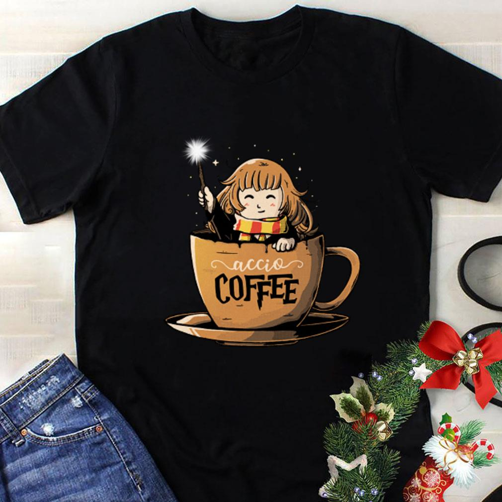 Harry Potter accio coffee shirt
