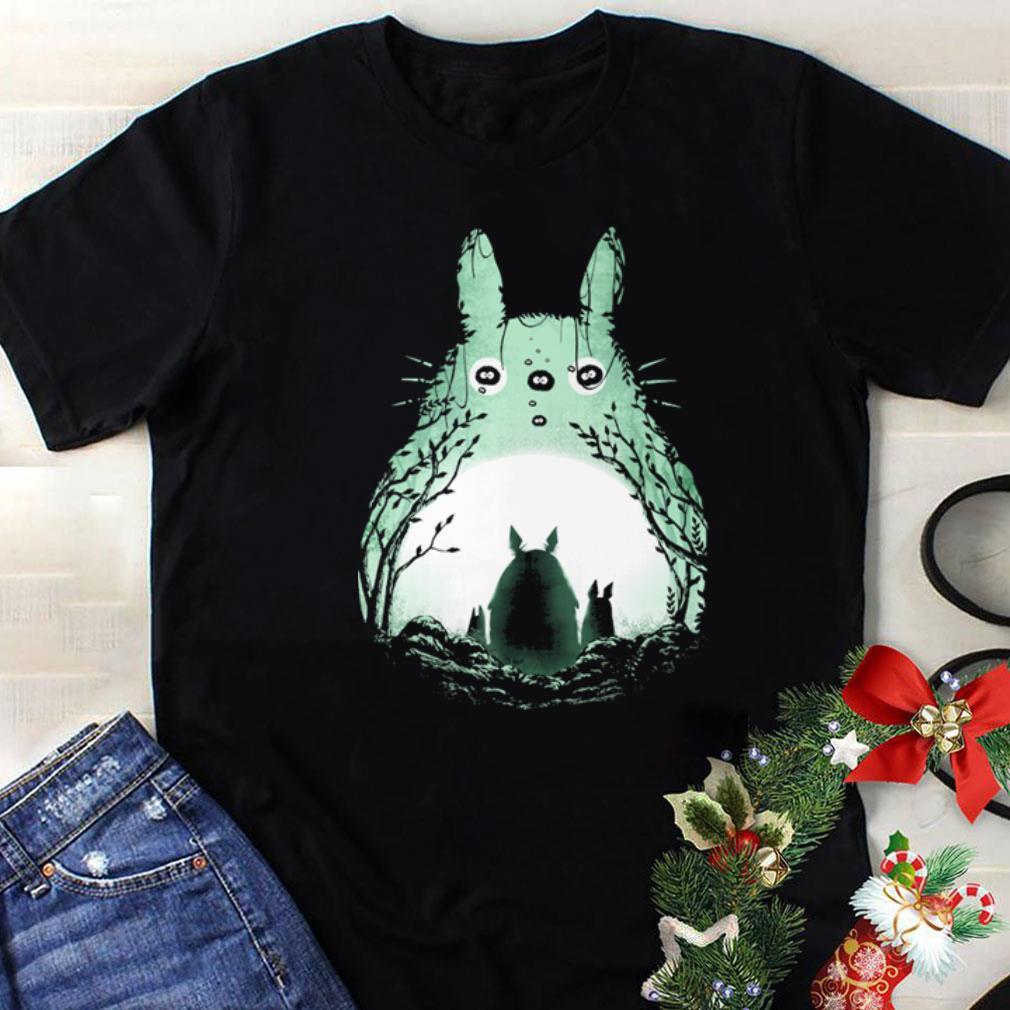 Midnight Totoro shirt