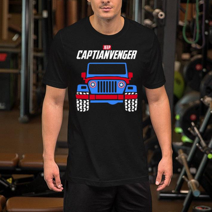 Captain America Marvel Avengers Endgame Jeep Captianvengers shirt