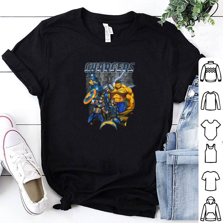 Chargers Avengers Ufos shirt