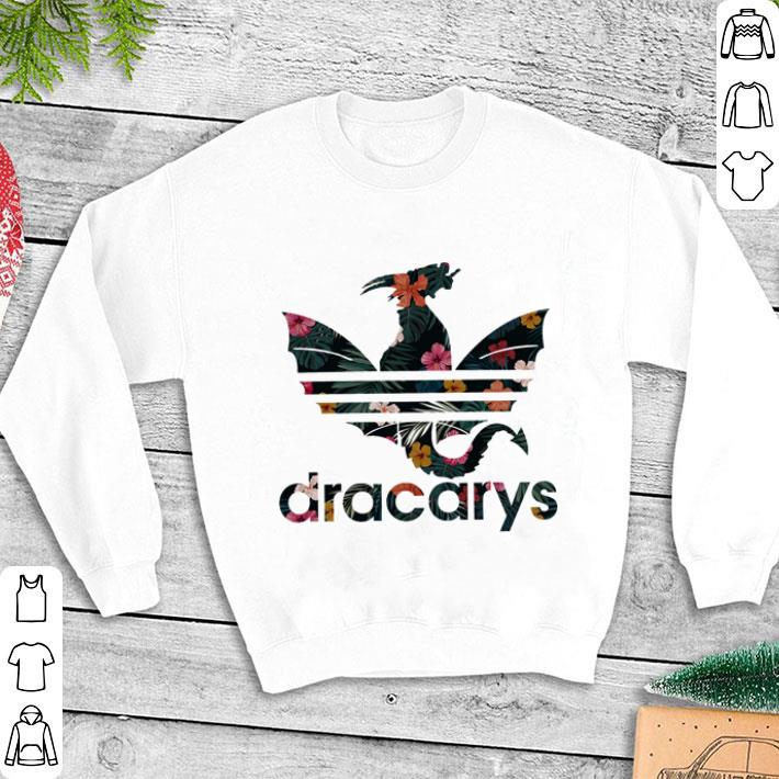 d46df40e Dracarys Adidas Game Of Thrones floral shirt, hoodie, sweater ...