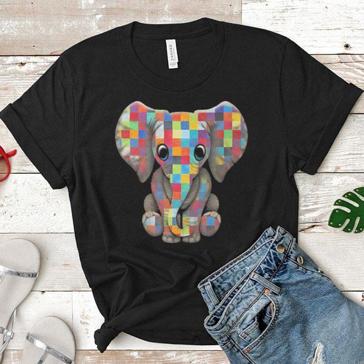 Elephant Autism Awareness shirt 1