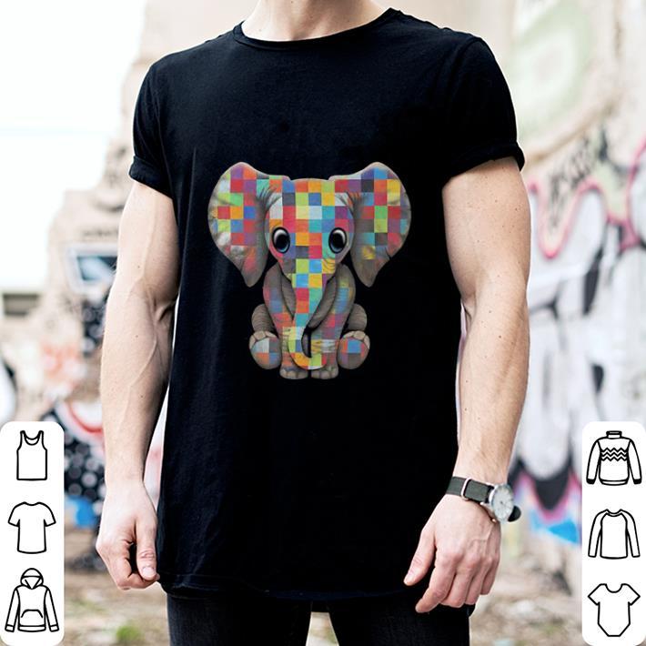 Elephant Autism Awareness shirt