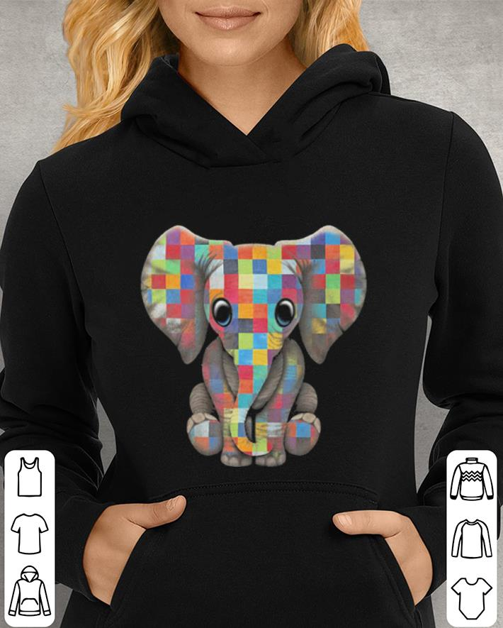 Elephant Autism Awareness shirt 3