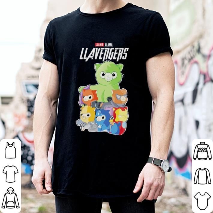 Llama Llavengers Marvel Avengers Endgame shirt