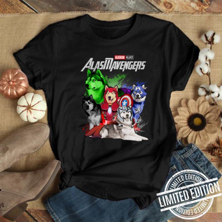 Marvel Avengers Endgame Alaskan Malamute Alasmavengers shirt 1