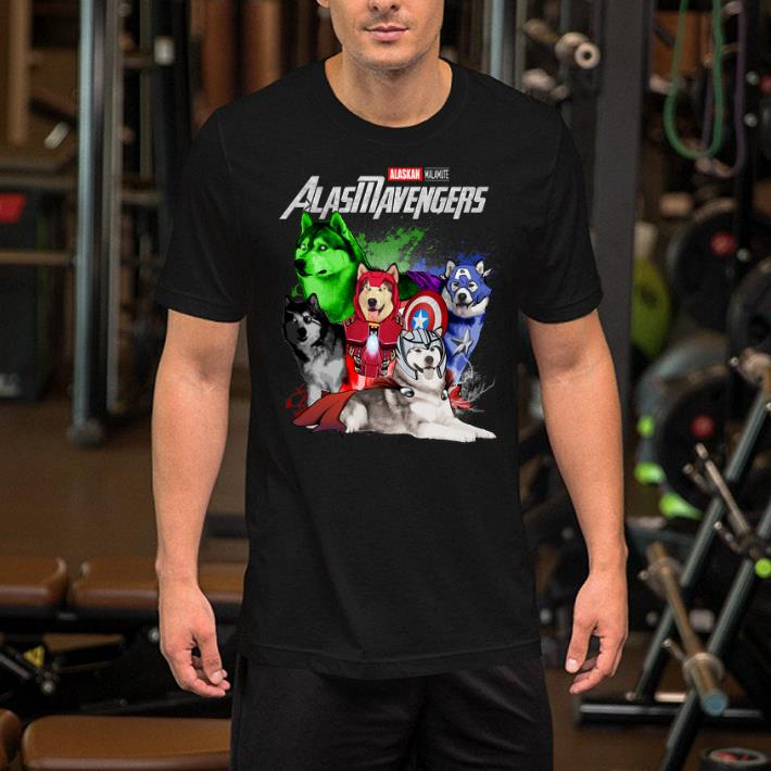 Marvel Avengers Endgame Alaskan Malamute Alasmavengers shirt