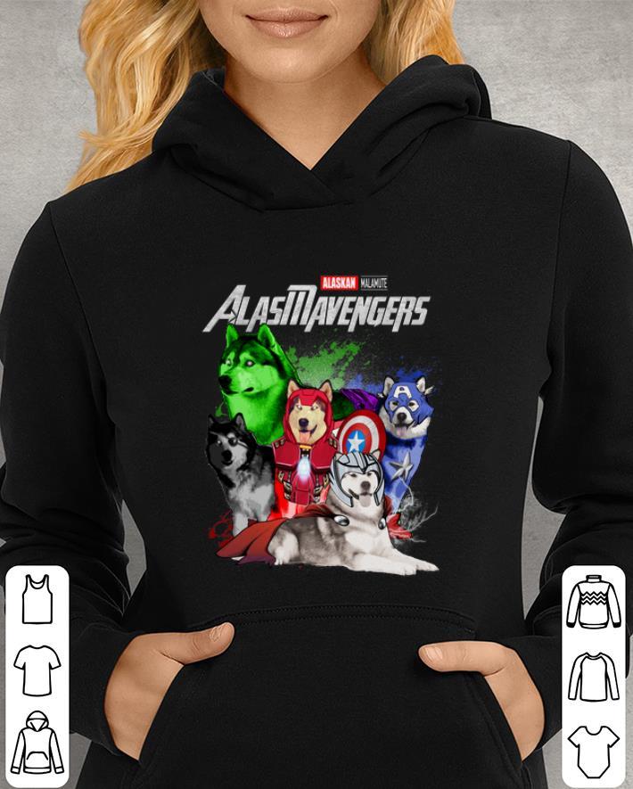 Marvel Avengers Endgame Alaskan Malamute Alasmavengers shirt 3