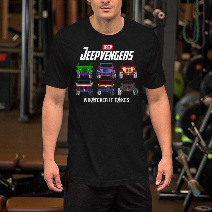 Marvel Avengers Endgame Jeep Jeepvengers whatever it takes Avengers shirt 2