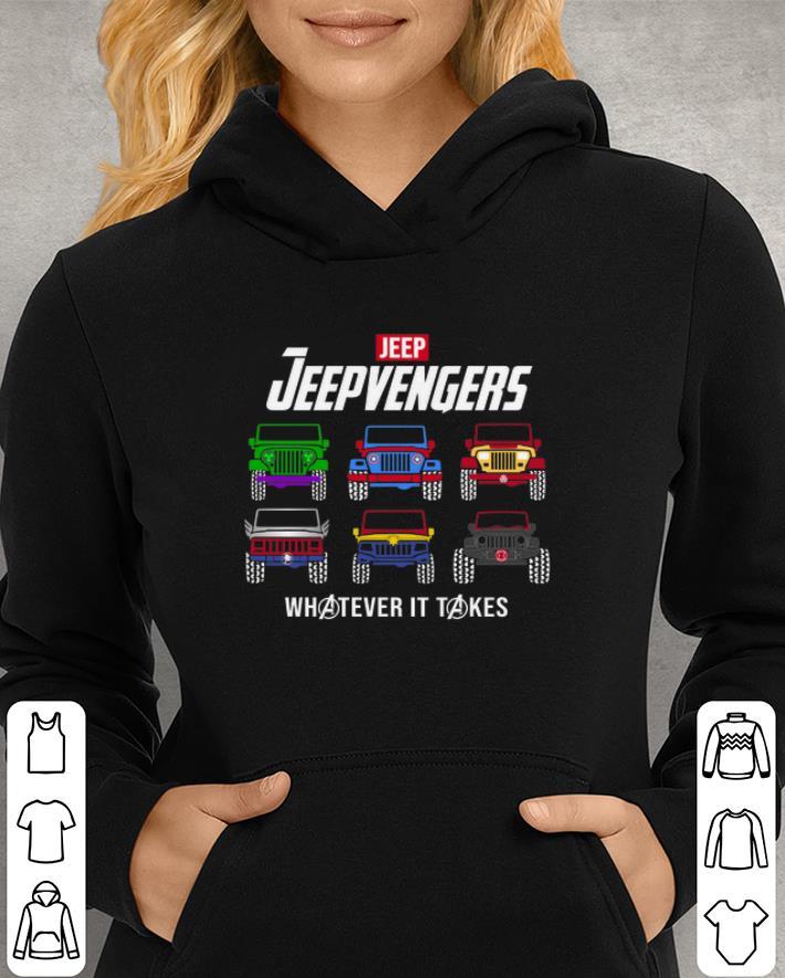 Marvel Avengers Endgame Jeep Jeepvengers whatever it takes Avengers shirt 3