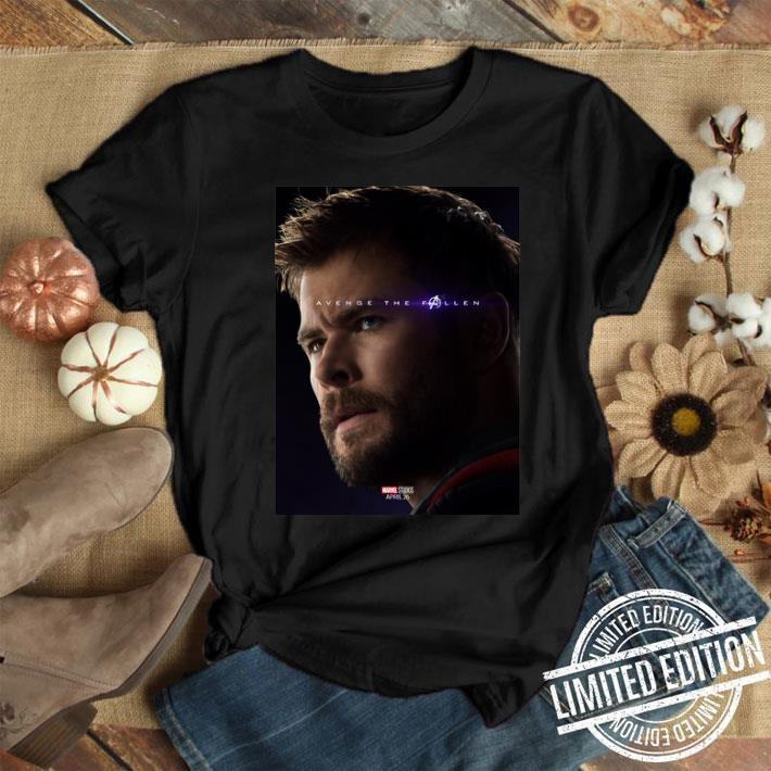 Marvel Avengers Endgame Thor Avenge the fallen shirt 1
