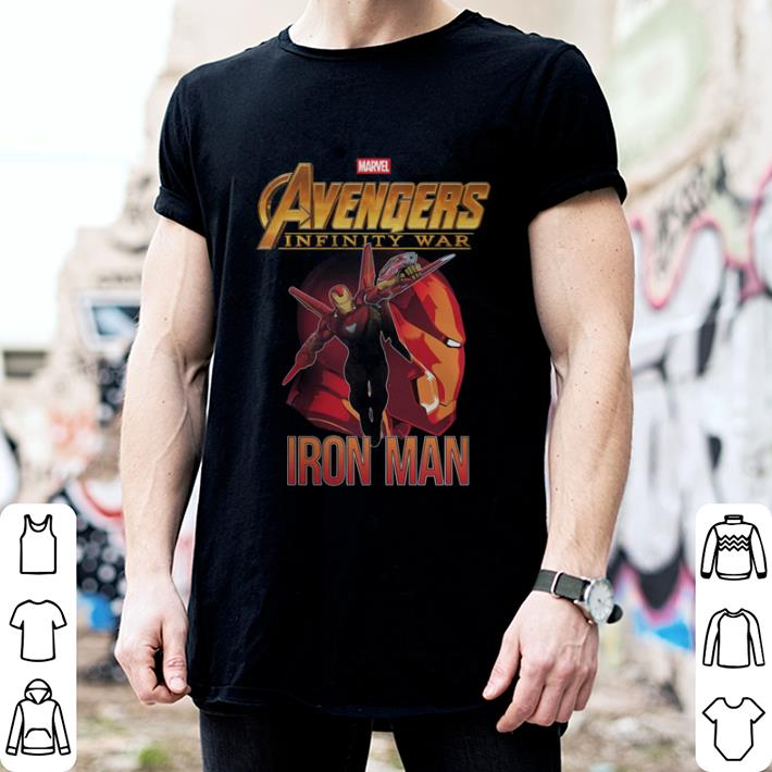 Marvel Avengers Infinity War Iron Man shirt