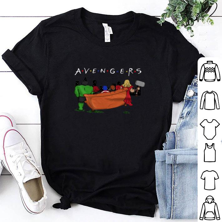 Marvel Endgame Avengers Infinity War parody Friends tv show shirt