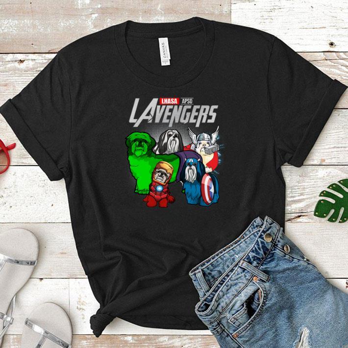 Marvel LAvengers Avengers Endgame Lhasa Apso shirt
