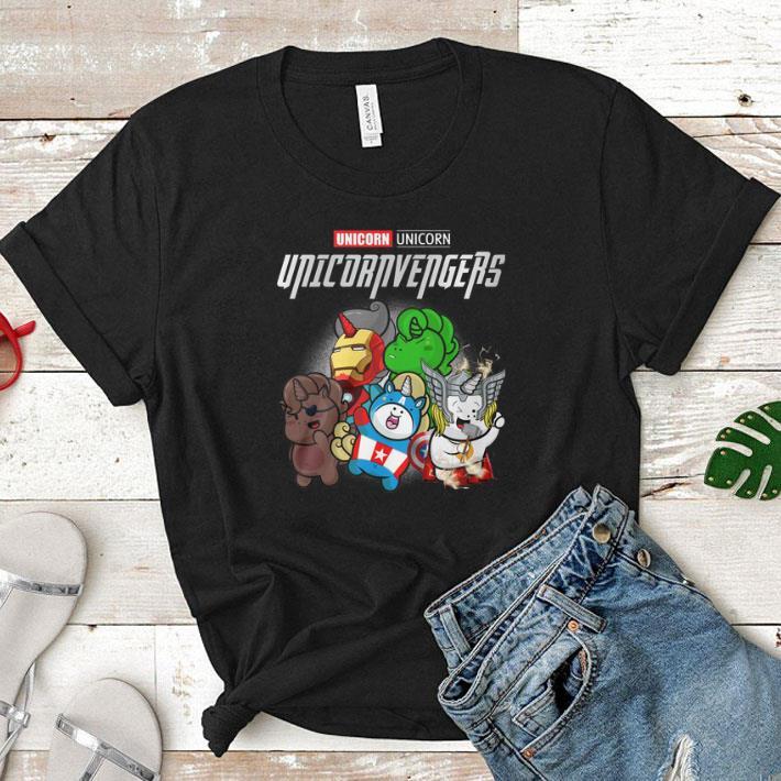 Marvel Unicorn Unicornvengers Avengers Endgame shirt