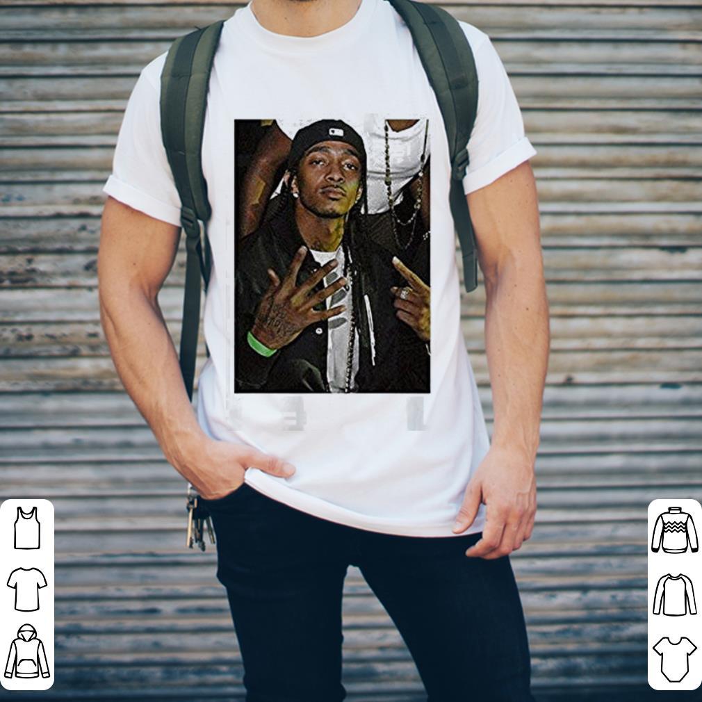 Sad Rip Nipsey Hussle Rip Rapper shirt 2