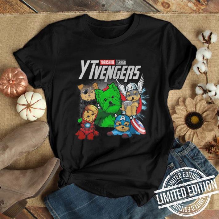 Yorkshire Terrier YTvengers Marvel Avengers Endgame shirt