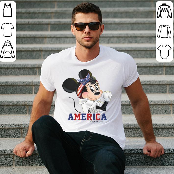 Mickey Mouse American nurse life shirt
