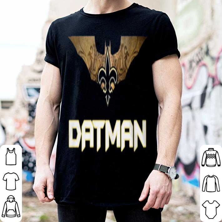 New Orleans Saints Datman Batman shirt