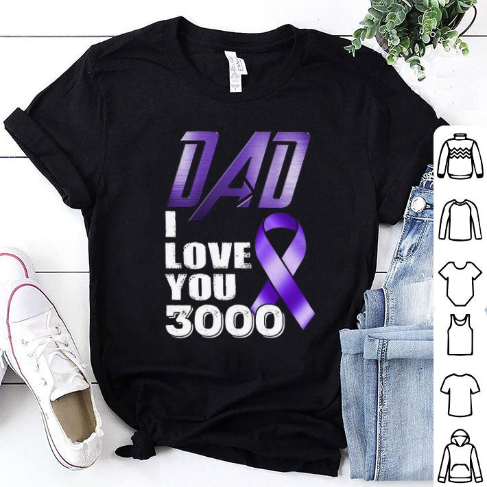 Breast Cancer Awareness Dad i love you 3000 shirt