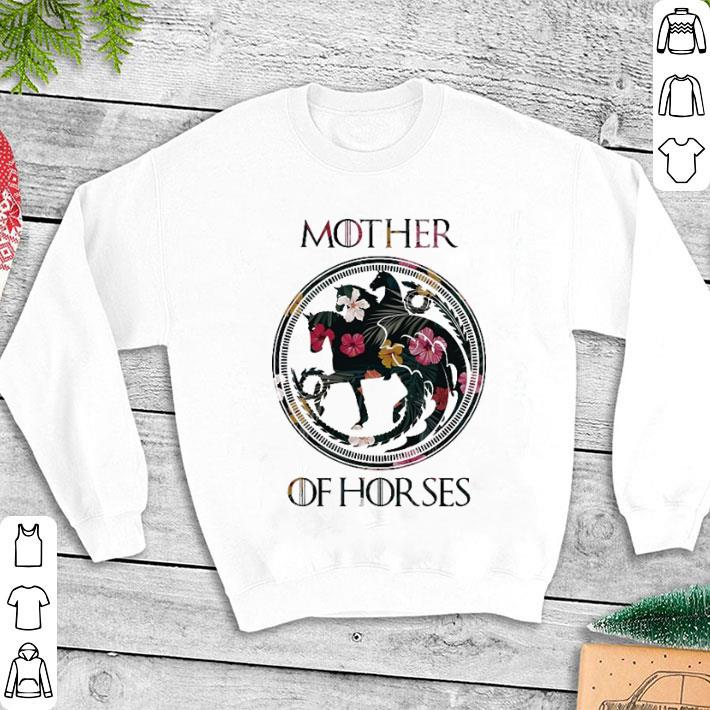 Flowers Mother Of Horses Game Of Thrones shirt