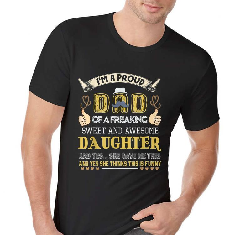 For Dad From Daughter Fathers Day shirt