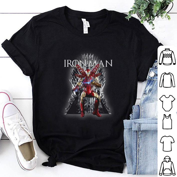 Game Of Thrones I am Iron Man Endgame shirt