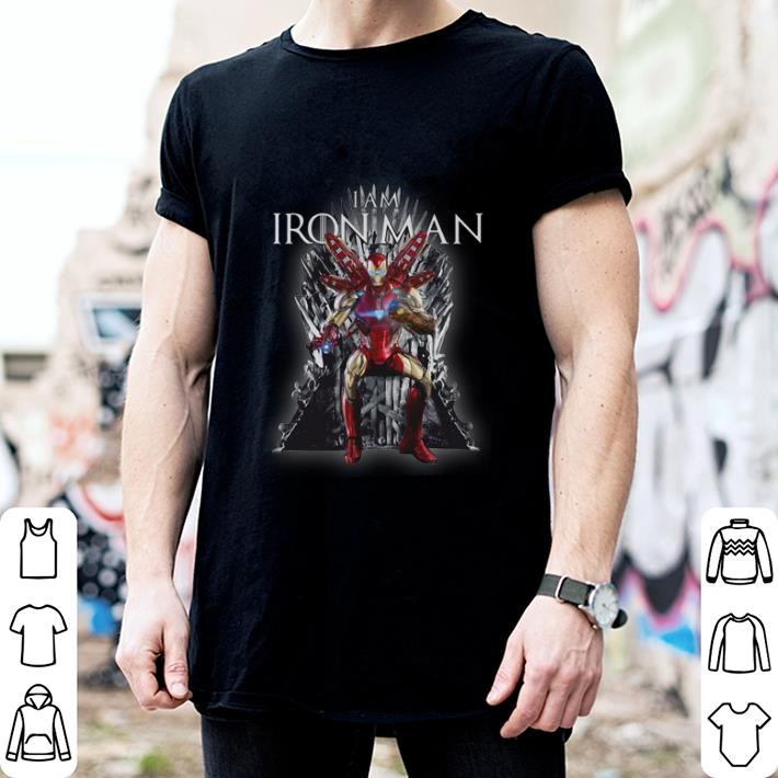 Game Of Thrones I am Iron Man Endgame shirt 2