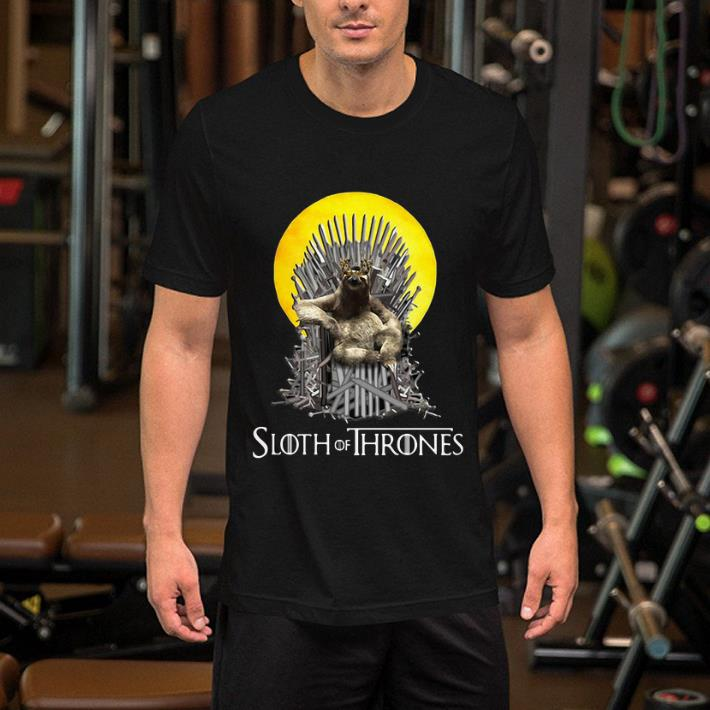 Game Of Thrones Sloth of Thrones shirt 2