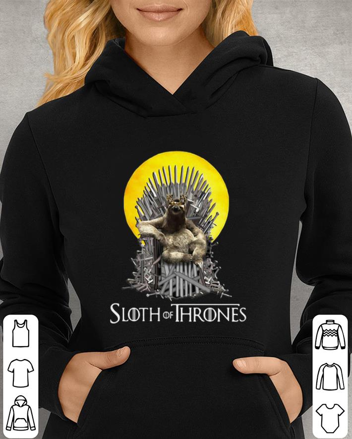 Game Of Thrones Sloth of Thrones shirt 3