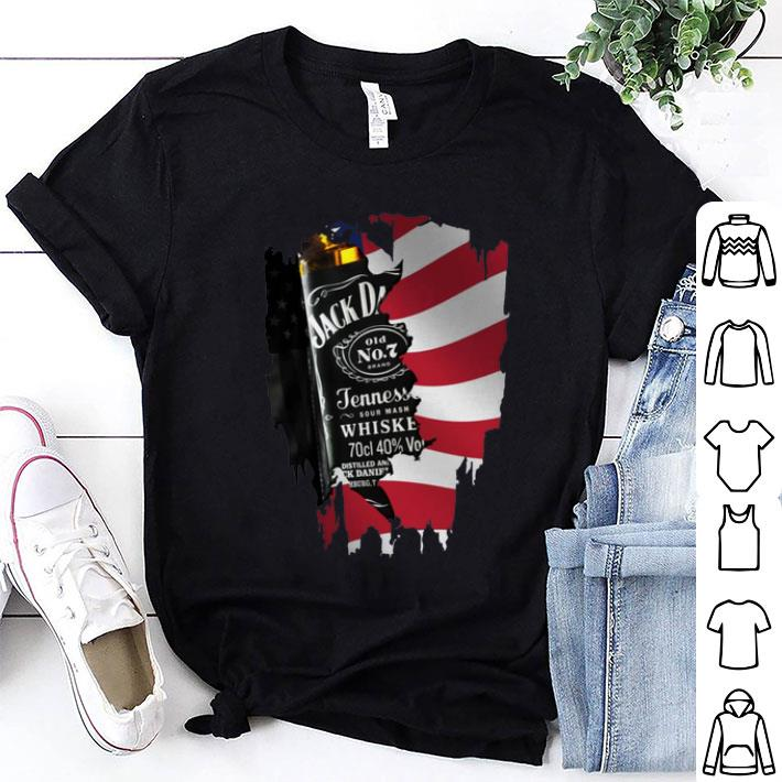 Independence Day 4th Of July Jack Daniel's America Flag shirt