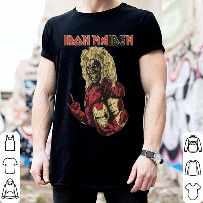 Iron Maiden Iron Man shirt