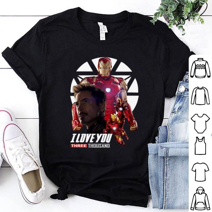 Iron Man I love you three thousand Endgame shirt 1