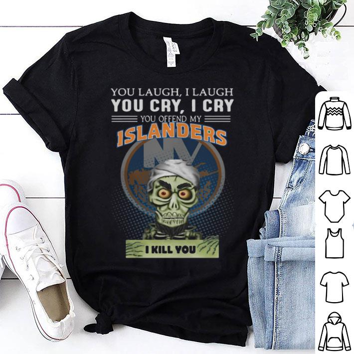 Jeff Dunham you laugh you cry you offend my New York Islanders shirt