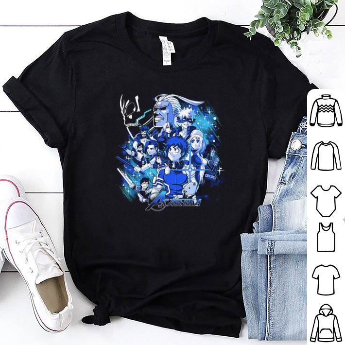 Marvel Avengers Endgame My Hero Academia shirt