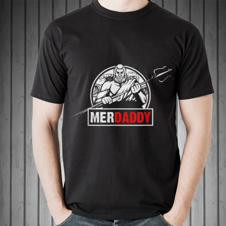 Merdaddy Birthday Party Fathers Day shirt