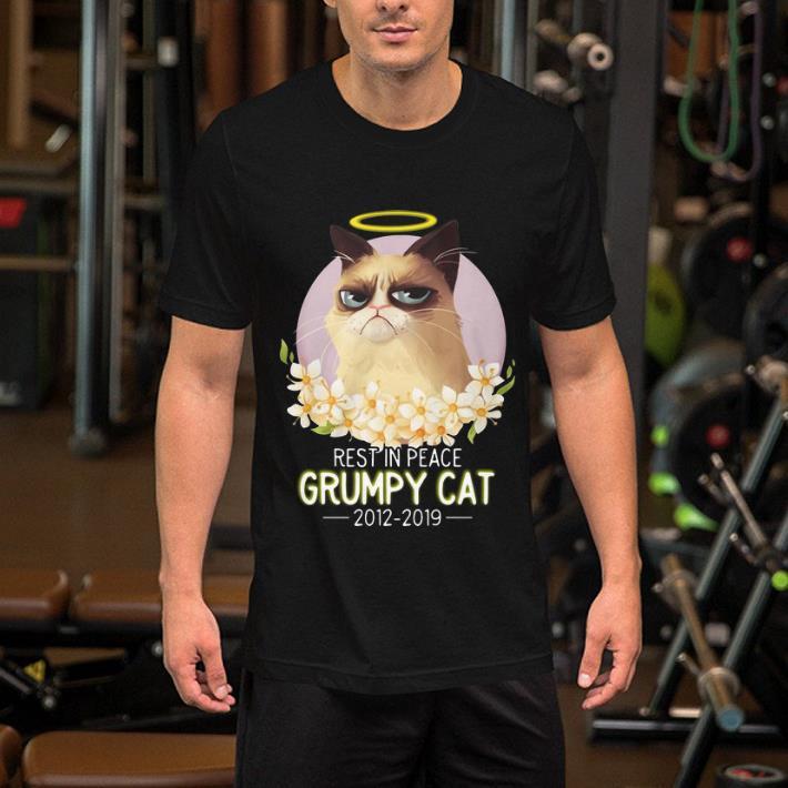 Rest In Peace Grumpy cat 2012-2019 shirt