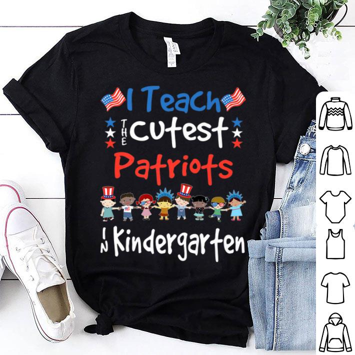 4th Of July Kindergarten Teacher shirt