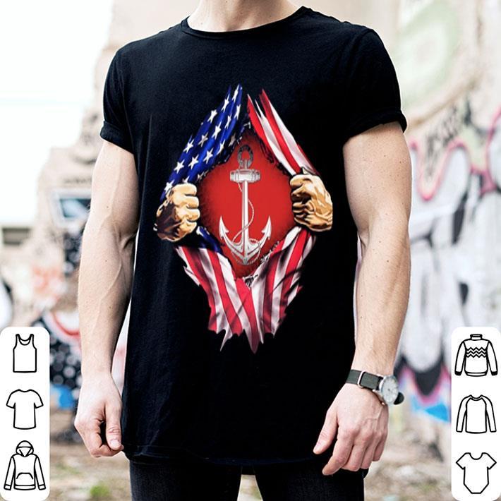 American Flag Navy Sailor shirt